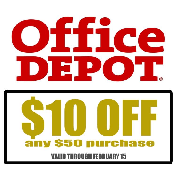 office depot coupon 1.22.14