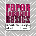 100 Spring Cleaning Tips_Paper Organizing