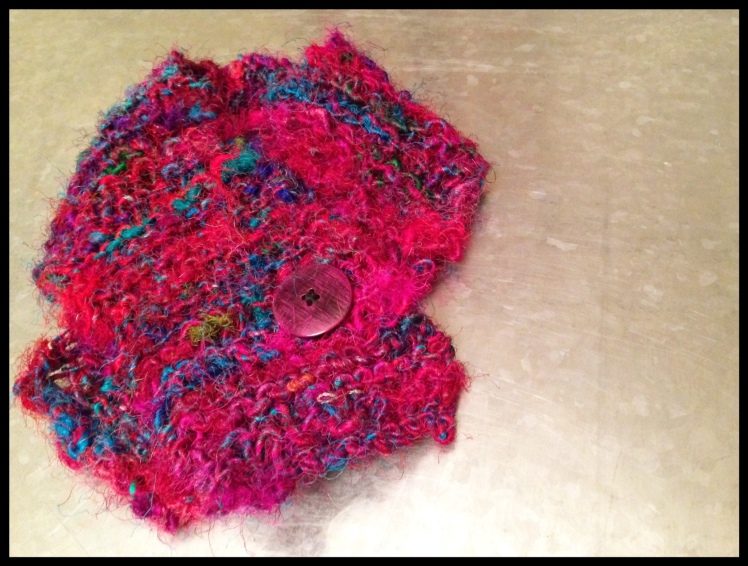 anthropologie yarn baby scarf