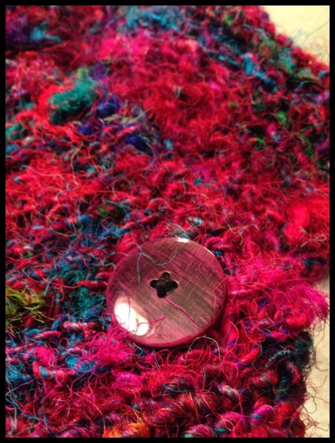 anthropologie yarn baby scarf