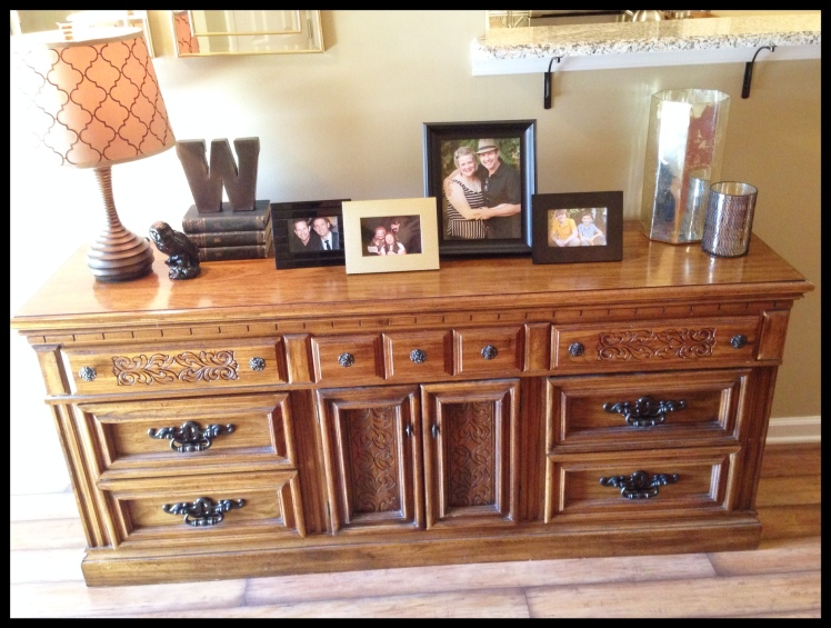 credenza styled