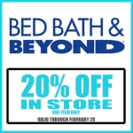 2.12.14 bed bath & beyond
