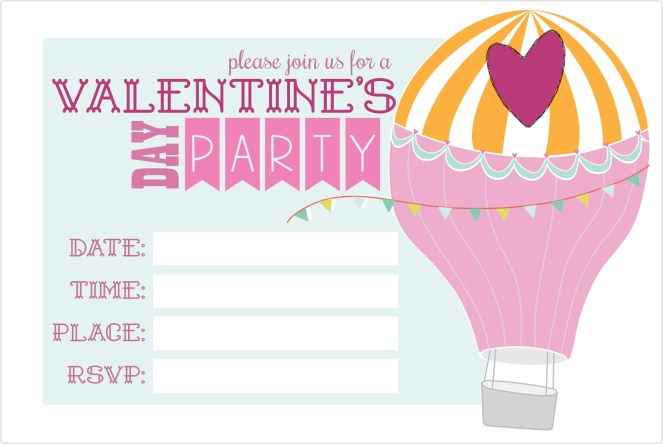 valentines day invitations free printables THE REFURBISHED LIFE – Valentine Party Invitation Template