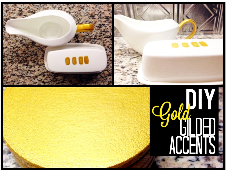 diy gold gilded decor 5