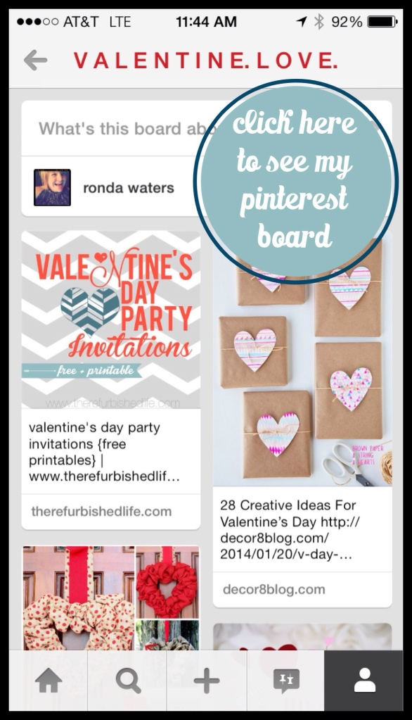 valentine's pinterest ideas