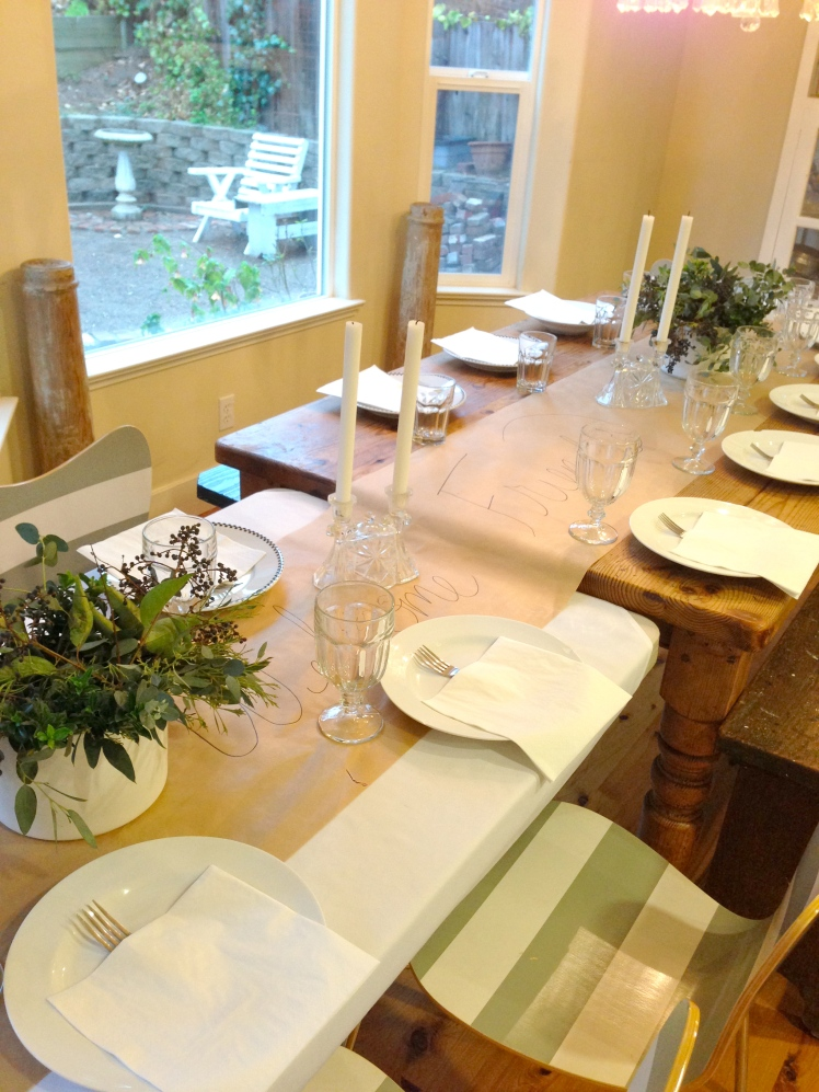 pomp & circumstance dinner party