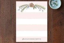sarah curry_floral stationary