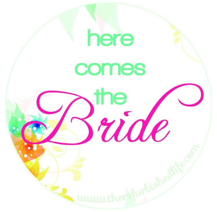 here comes the bride logo
