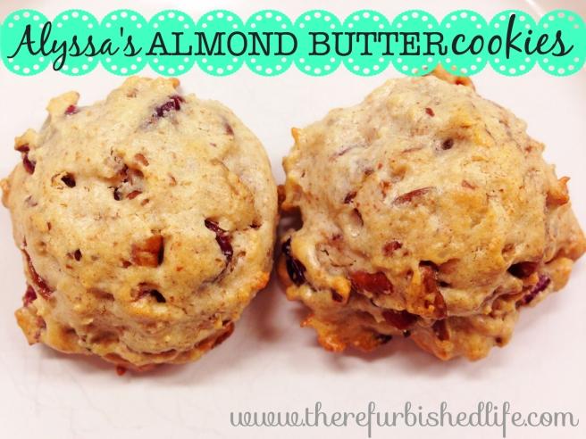 3.14.14 almond butter cookies