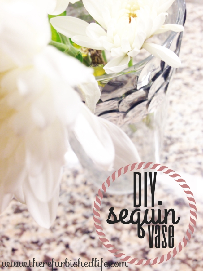 3.19.14 diy sequin vase