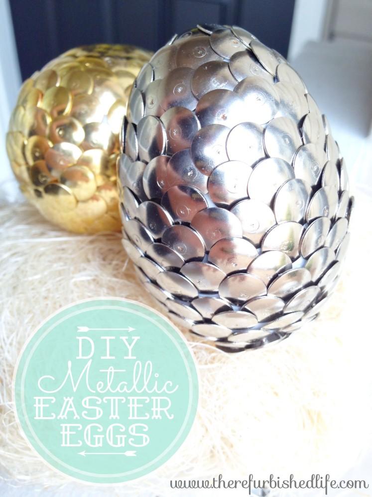 3.29.14 diy metallic easter eggs