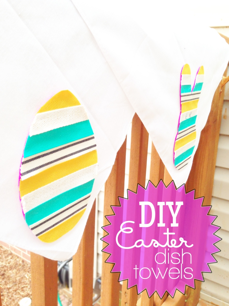 4.5.14 diy easter dish towels