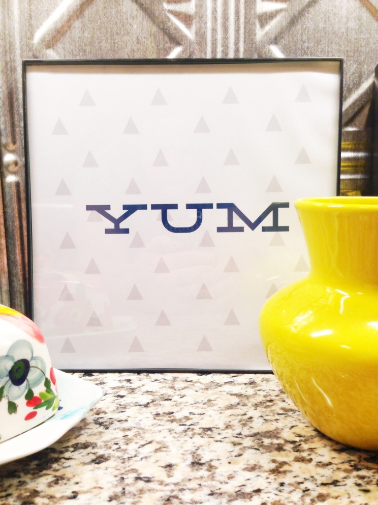 kitchen printable yum