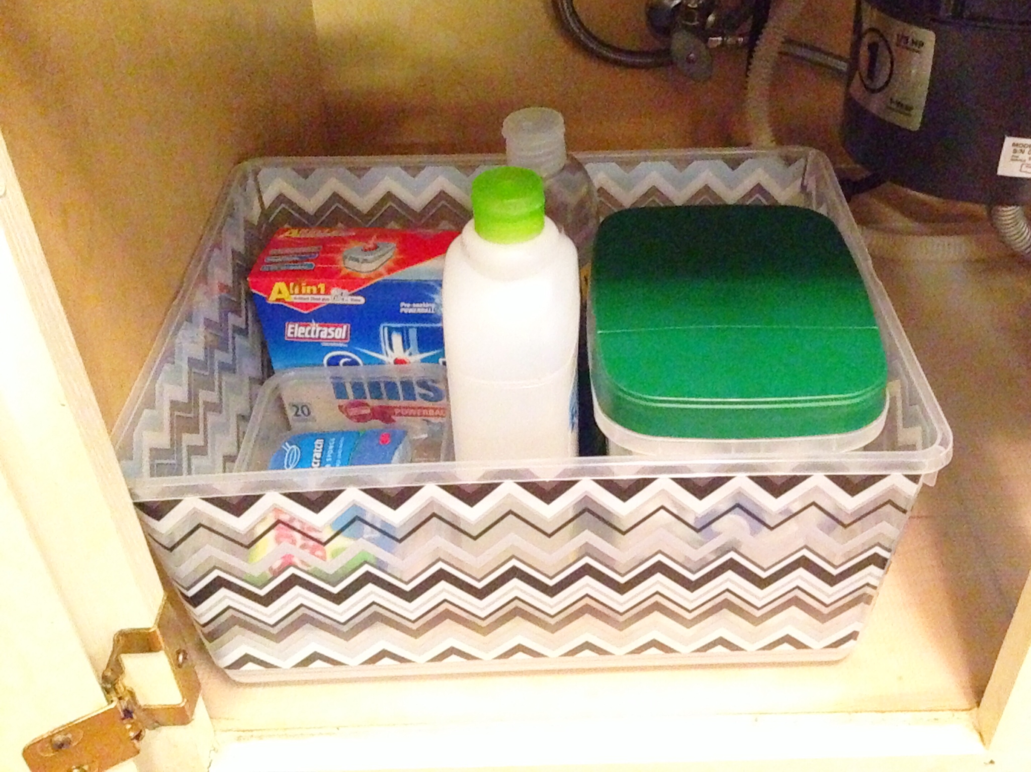 Spring Cleaning Series Under The Kitchen Sink The