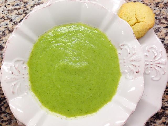 practical paleo broc-cauli chowder