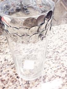 diy sequin vase