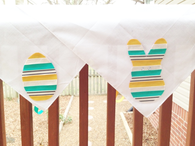 diy easter dish towels