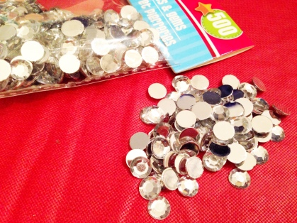 diy rhinestone chip clips