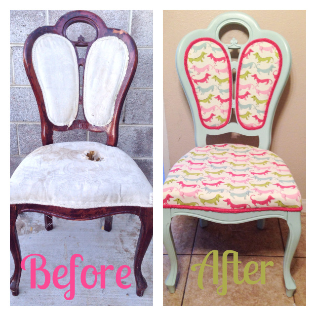 sprinkles sparkles and sugar free_chair refurb
