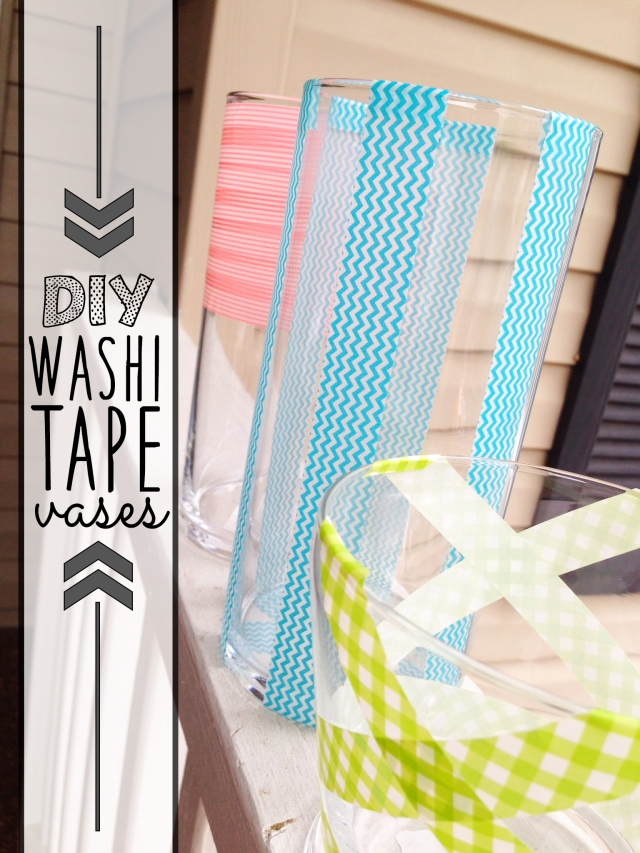 4.14.14 diy washi tape vases