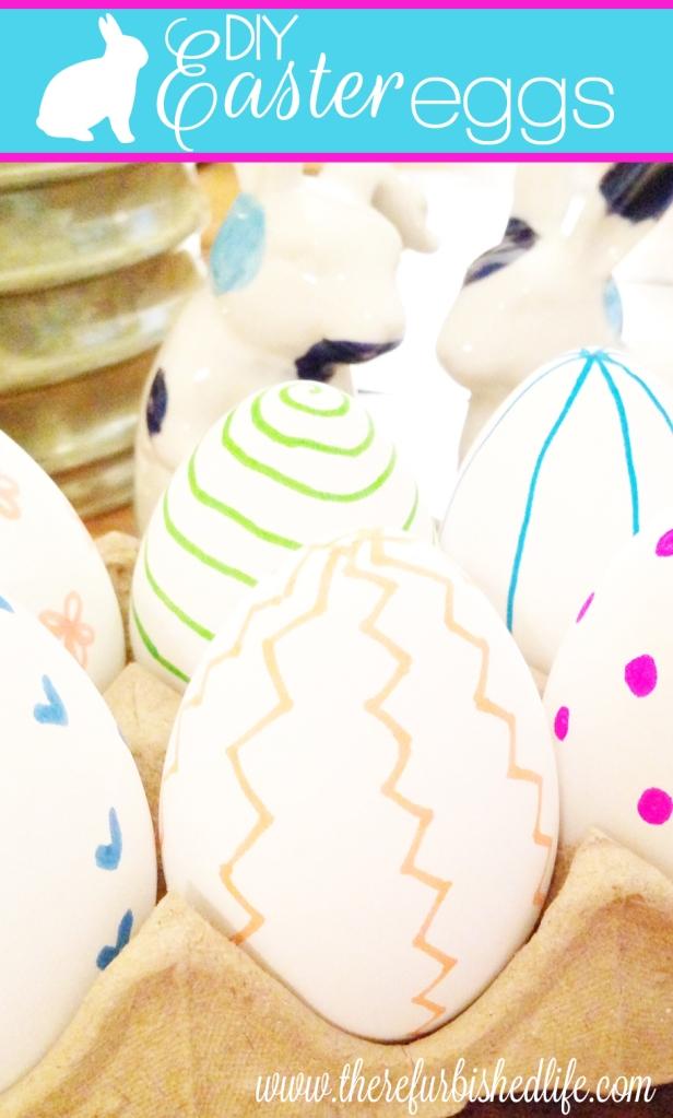 diy easter eggs + easter printables