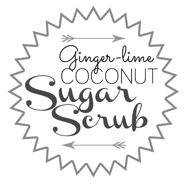 4.28.14 ginger lime coconut sugar scrub