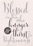 matthew 5:6