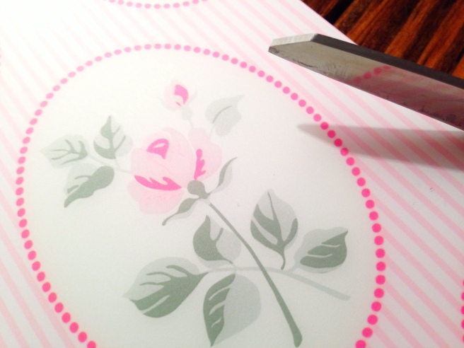 diy luggage tags from placemats