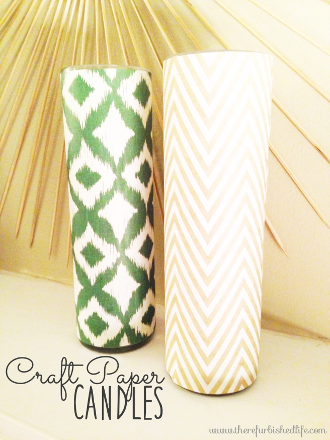 5.14.14 diy craft paper candles