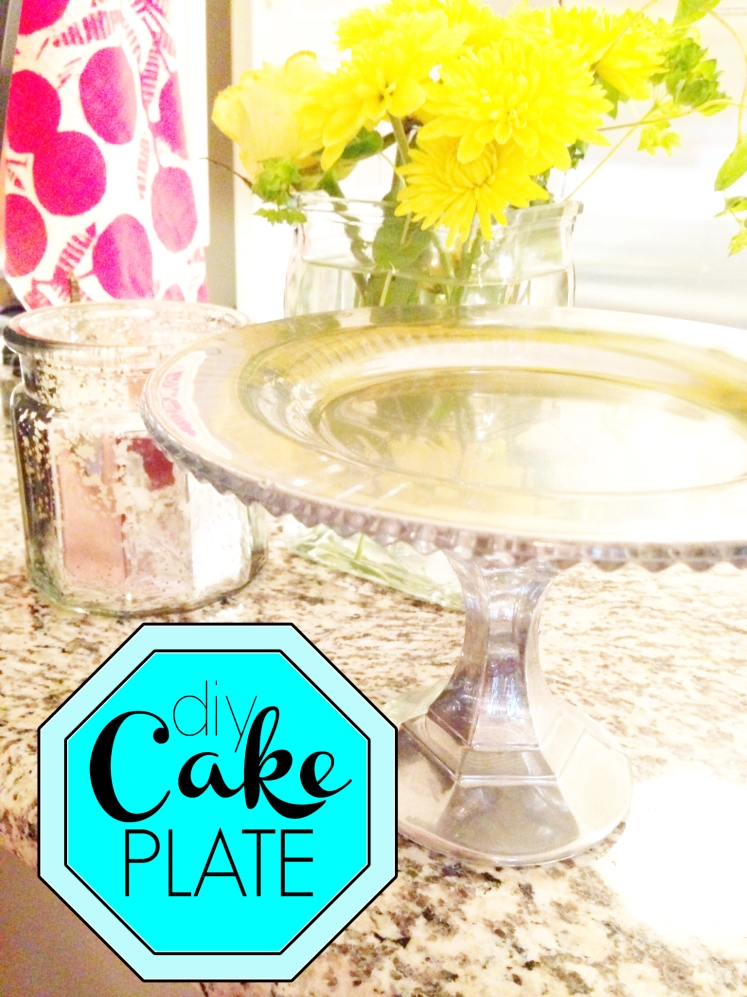 5.9.14 diy cake plate