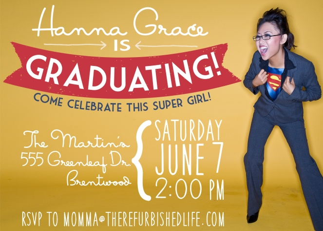 graduation invitation banner