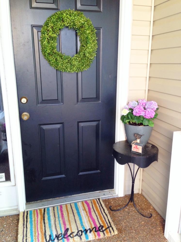 vignette front door