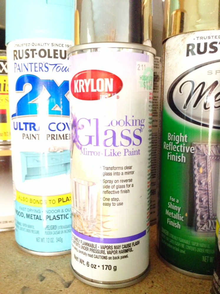 looking glass spray paint