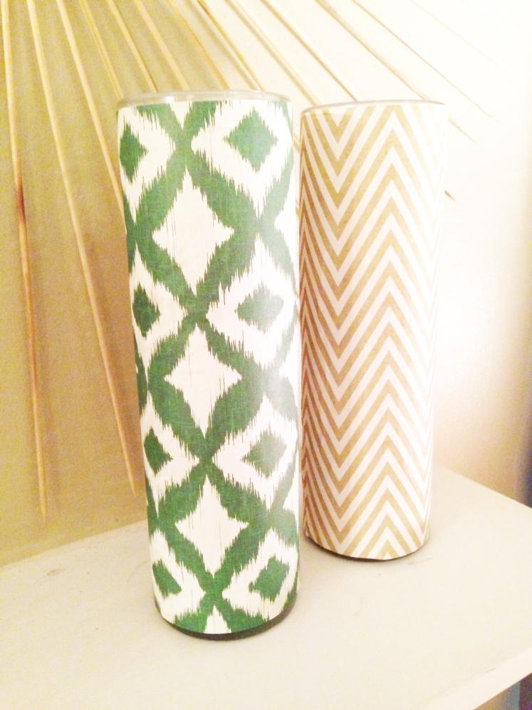 diy craft paper candles