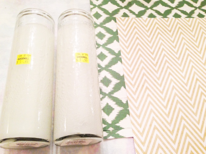diy craft paper candles