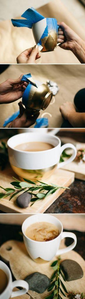 7.26.14 diy geo coffee mug