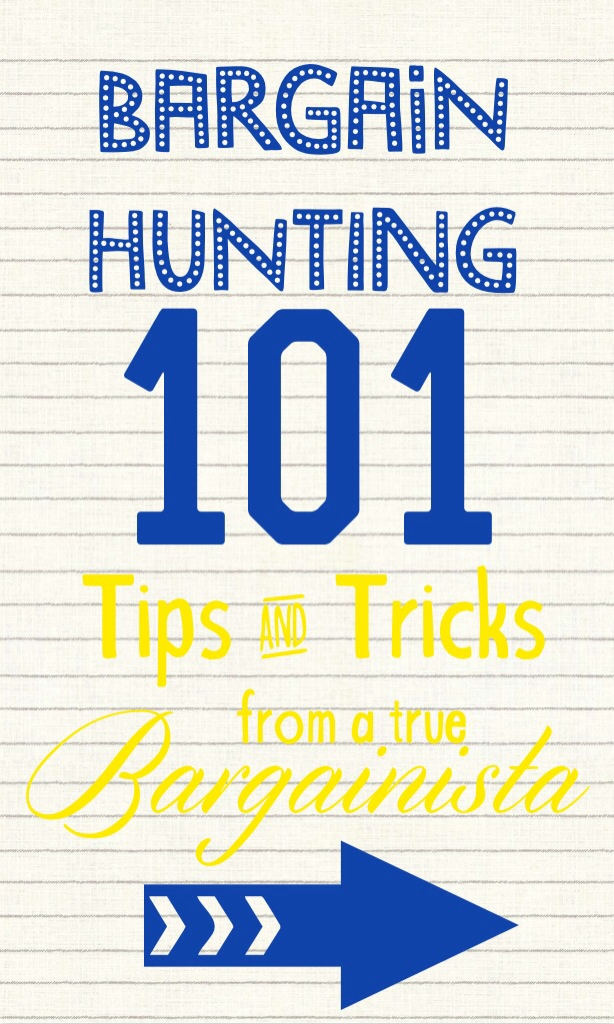 Bargain hunting 101